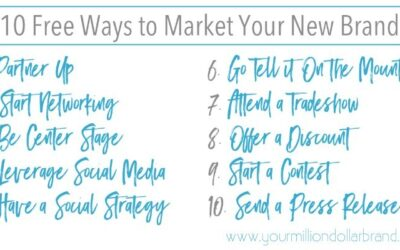 10 Free Ways to Market Your New Brand